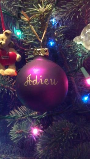 Ornament-Adieu